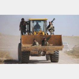 ISと戦うSDFの戦闘員ら(C)ロイター