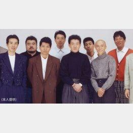たけし軍団のメンメン(右端がダンカン)(提供写真)