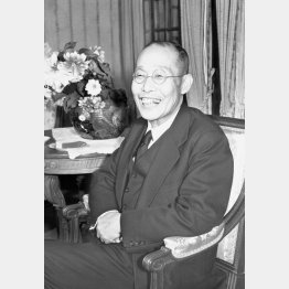 この夏、拝謁記が話題に(宮内庁長官だった頃の田島道治氏、1952年11月)/(C)共同通信社