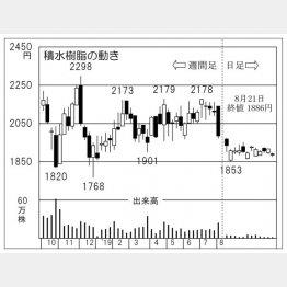 積水樹脂(C)日刊ゲンダイ