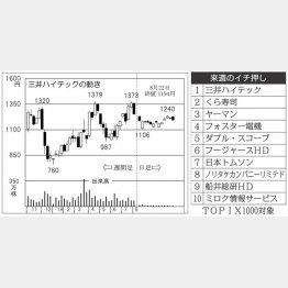 三井ハイテック(C)日刊ゲンダイ