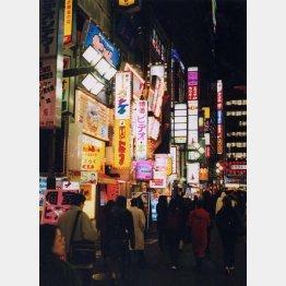 80年代の頃の新宿歌舞伎町(C)日刊ゲンダイ