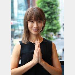 ヨガインストラクター、タレントの花田美恵子さん(C)日刊ゲンダイ