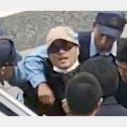 逮捕された宮崎文夫容疑者(近隣住民提供)