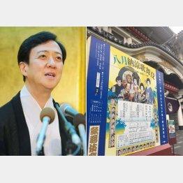 坂東玉三郎(左)/(C)日刊ゲンダイ