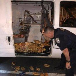 市民爆笑!米警官を悲しませた「ドーナツ配送車盗難事件」