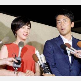 政治家・小泉進次郎と結婚した滝川クリステル(C)共同通信社