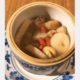 星福オリジナル「薬膳蒸しスープ」(C)日刊ゲンダイ
