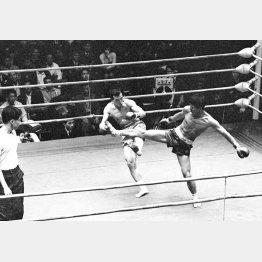 GSブームの頃、キックボクシングが大人気だった=1969(昭和44)年10月/(C)共同通信社