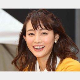 フリーアナの新井恵理那(C)日刊ゲンダイ