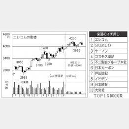 エレコム(C)日刊ゲンダイ