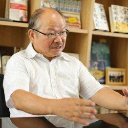 作家の安部龍太郎さん