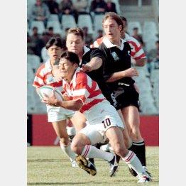 95年のW杯で日本はニュージーランドに記録的大敗(C)ロイター共同