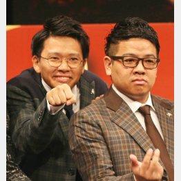 ミキの弟・亜生(左)と昴生(C)日刊ゲンダイ