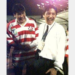 97年に鳴り物入りで誕生した平尾監督(右)も…(C)共同通信社