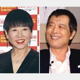 和田アキ子(左)と矢沢永吉(C)日刊ゲンダイ
