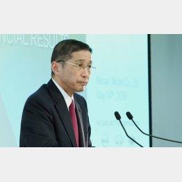 日産自動車の西川社長(C)日刊ゲンダイ