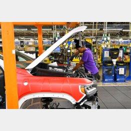 米GMの自動車工場(C)ロイター