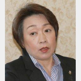 橋本聖子(C)日刊ゲンダイ