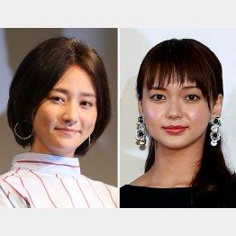 木村文乃(左)と多部未華子(C)日刊ゲンダイ