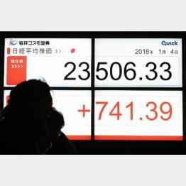 市場は爆上げに期待(C)日刊ゲンダイ