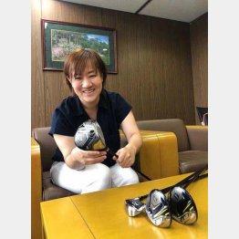 ブリヂストンスポーツ ボールクラブ事業本部 和田梢さん(提供写真)