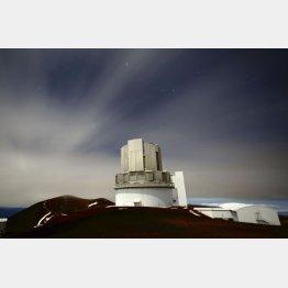 米ハワイ島にある国立天文台のすばる望遠鏡(C)共同通信社