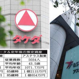 製薬業界のガリバー 武田薬品工業とアステラス製薬を比較