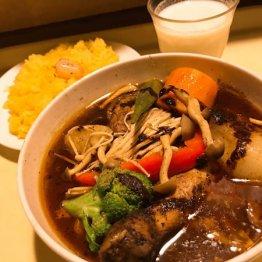 スープカリィ厨房 ガネー舎(新橋)札幌元祖の流れをくむ