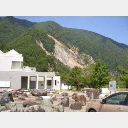 ココを訪れてから始まった(長野県の大鹿村中央構造線博物館)/(提供写真)