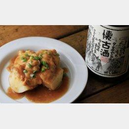 合う酒=日本酒の古酒(C)日刊ゲンダイ