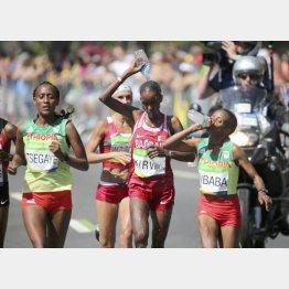 リオ五輪女子マラソンでは23人が途中棄権(C)ロイター