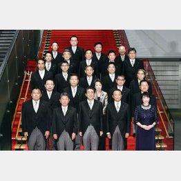 日本会議系12人、統一教会系も12人(C)共同通信社