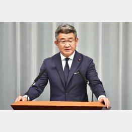 武田良太国家公安委員長(C)共同通信社