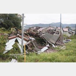 家屋修理ですでに3人が転落死している千葉県(C)共同通信社