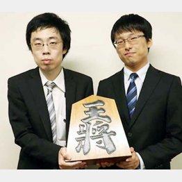石川優太(左)、渡辺和史が新棋士に(日本将棋連盟HPから)