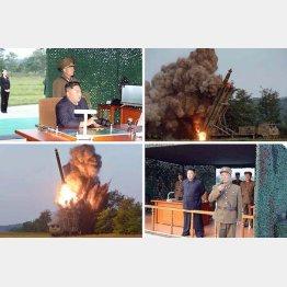 日韓がモメている間に、北朝鮮は新型ミサイルをバンバン発射(コリアメディア提供・共同)