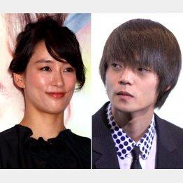 水川あさみ(左)と窪田正孝(C)日刊ゲンダイ