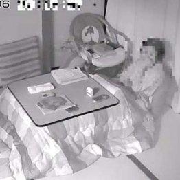 最新技術を駆使 見守りカメラで離れた母の食事風景を確認