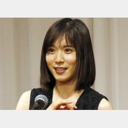 女優の松岡茉優(C)日刊ゲンダイ
