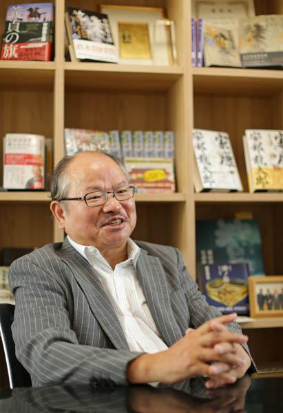 作家の安部龍太郎さん(C)日刊ゲンダイ