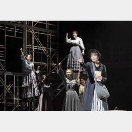 世界初演のロックミュージカル「FACTORY GIRLS~私が描く物語~」/撮影=岡千里