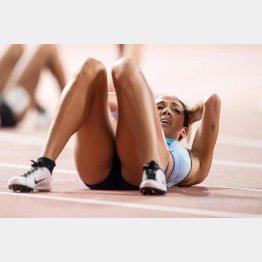 七種競技で金メダルを獲得したカタリーナ・ジョンソン・トンプソン(C)ロイター