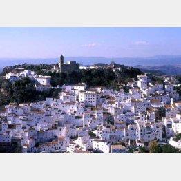 スペインのアンダルシア地方のどの村も息をのむような美しさ(提供写真)
