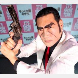 ものまねタレントのジョーク東郷さん(C)日刊ゲンダイ