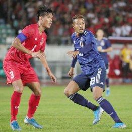 9月10日のW杯予選ミャンマー戦に出場したFW鈴木武蔵