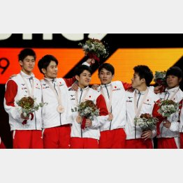 2大会連続の銅メダル(C)ロイター