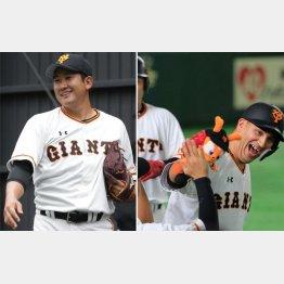 巨人・菅野は我慢強い男(10日、四回に2ランを放ったゲレーロ=右)/(C)日刊ゲンダイ