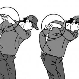 左手首を手のひら側に折り曲げると球のつかまりが良くなる