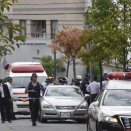 10月10日、発砲音があった指定暴力団神戸山口組系事務所付近